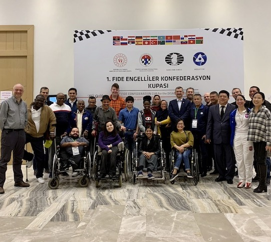 Master Class for participants of the FIDE Confederation Cup