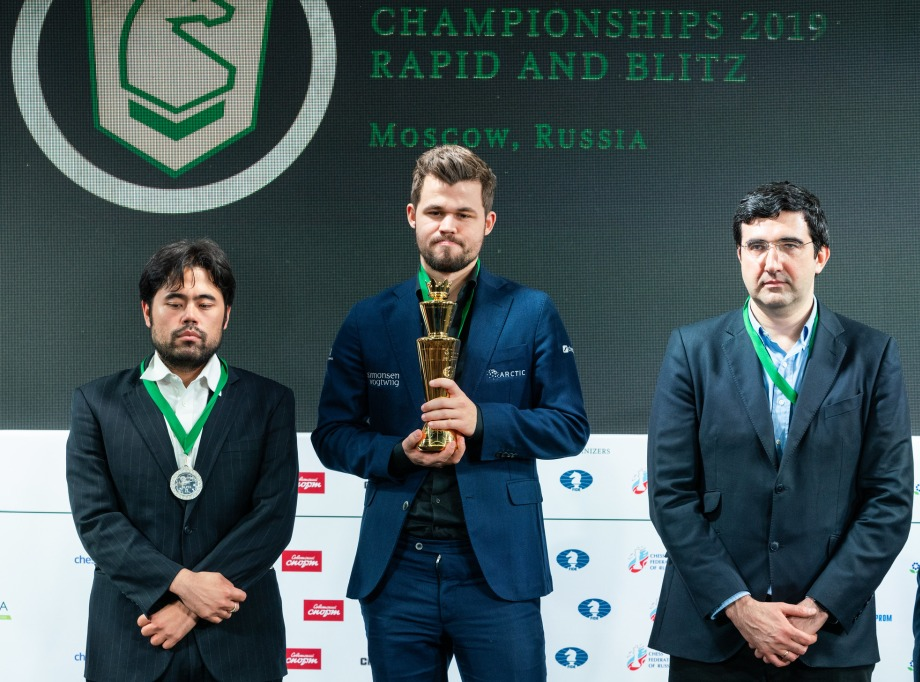 Carlsen and Lagno win the World Blitz Chess Championship
