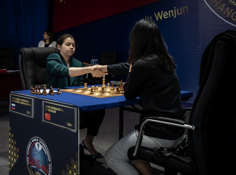 WWCC Game 8: Goryachkina scores a crucial victory