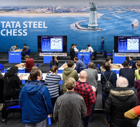 Tata Steel Masters 2020: Dubov and Giri win on a quiet day