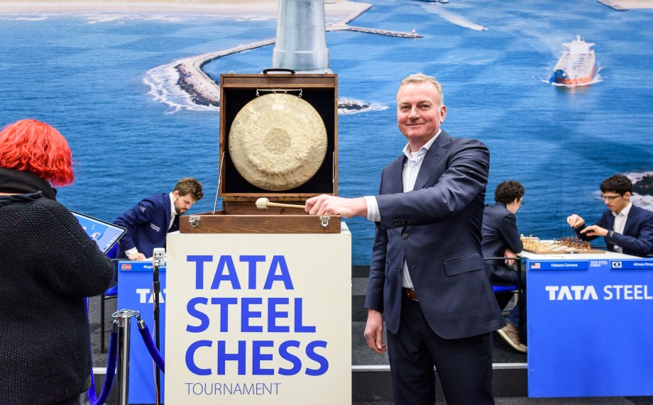 Tata Steel Masters 2020: Caruana and Carlsen top the leaderboard