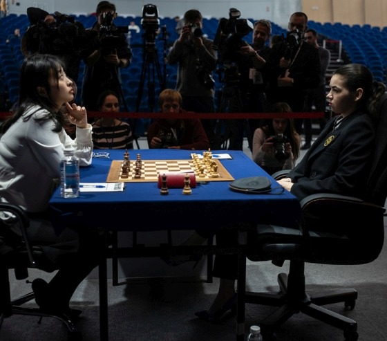 The Women's World Chess Championship will be decided by tie-break