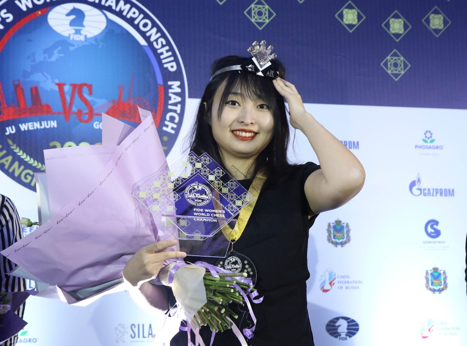 Ju Wenjun wins Women's World Championship match