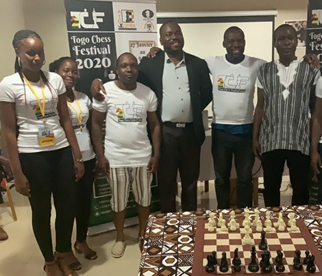 Togo Chess Festival unites five African countries