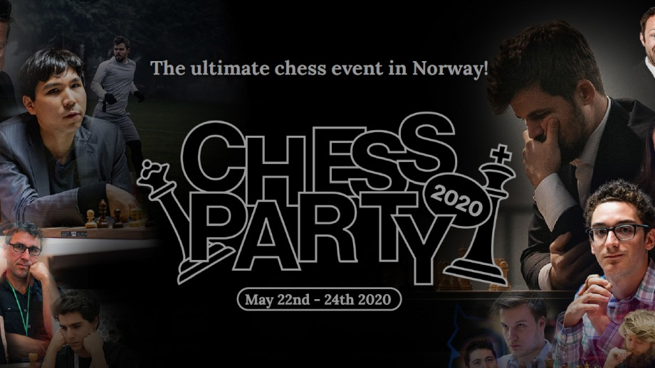 Norway throws ChessParty 2020 in May