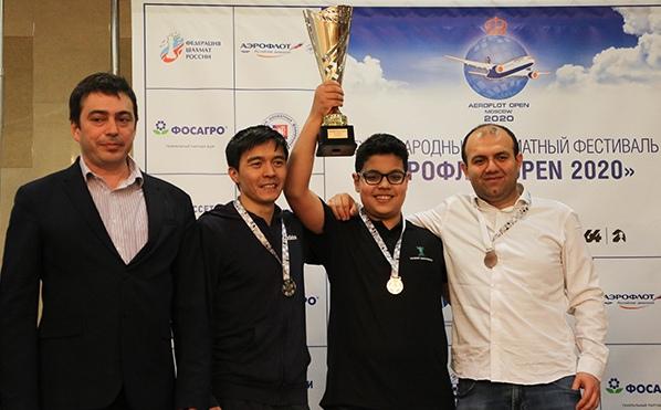 Aydin Suleymanli wins Aeroflot Open 2020