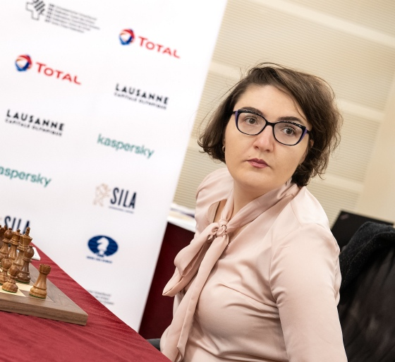 WGP Round 9: Dzagnidze beats Ju Wenjun and takes the lead