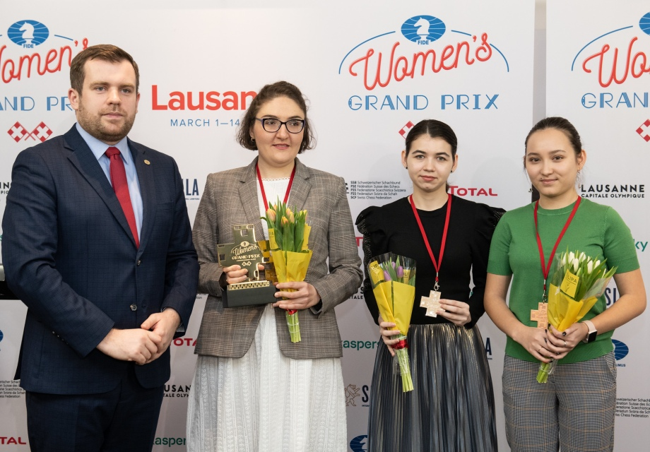 Nana Dzagnidze wins Women's Grand Prix Lausanne