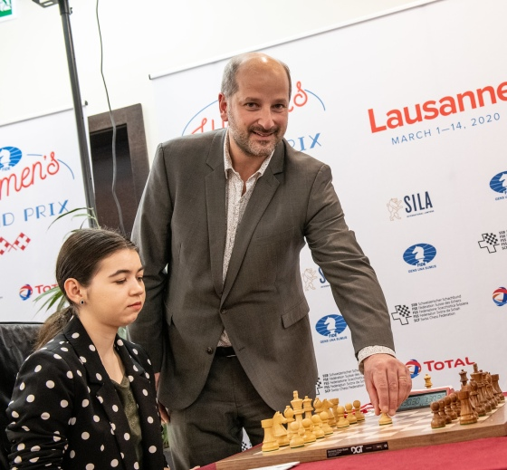 WGP Lausanne: Goryachkina and Dzagnidze lead with one round to go