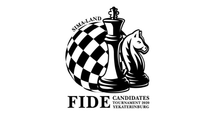 Logo for the 2020 FIDE Candidates Tournament