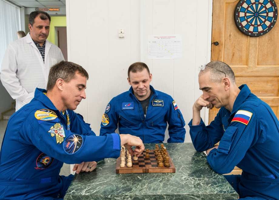 Chess in outer space