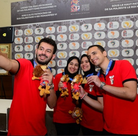 Egypt takes the Gold at the African Games