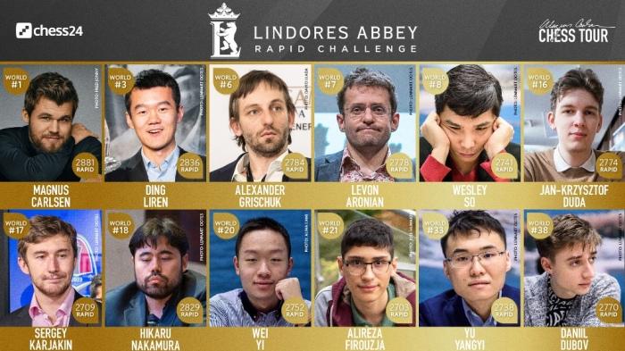 Lindores Abbey QFs: Carlsen in semis, Karjakin bounces back