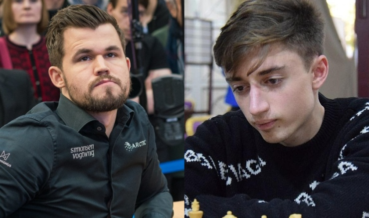 Lindores Abbey Challenge SFs: Carlsen and Dubov strike first