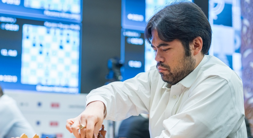 Lindores Abbey: Nakamura topples Carlsen to ride into the final