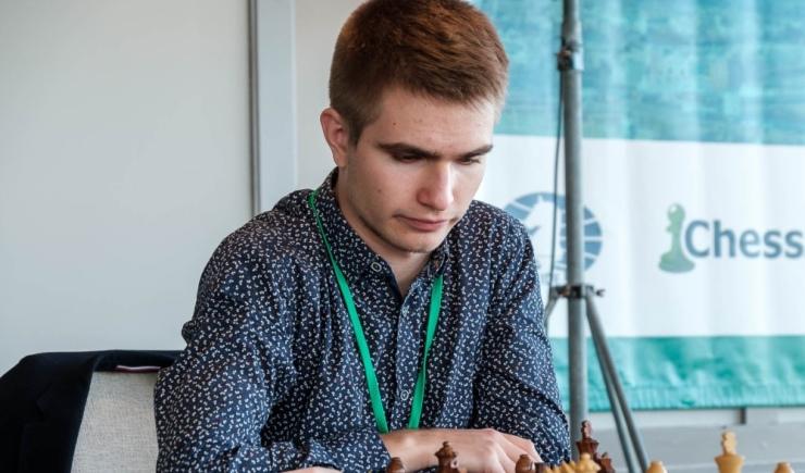Alexey Sarana wins European Online Chess Championship