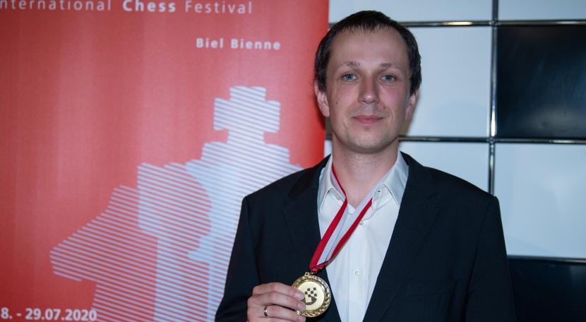 Wojtaszek clinches Biel Grandmaster title
