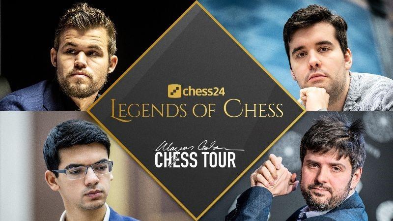 Legends of Chess: Carlsen makes final, Giri comes back