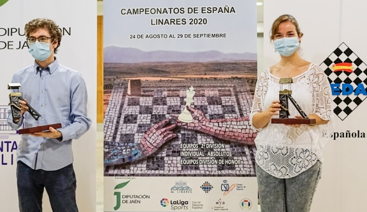 David Anton and Sabrina Vega win Spanish Championship