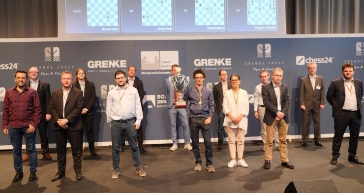 OSG Baden-Baden wins Schachbundesliga championship