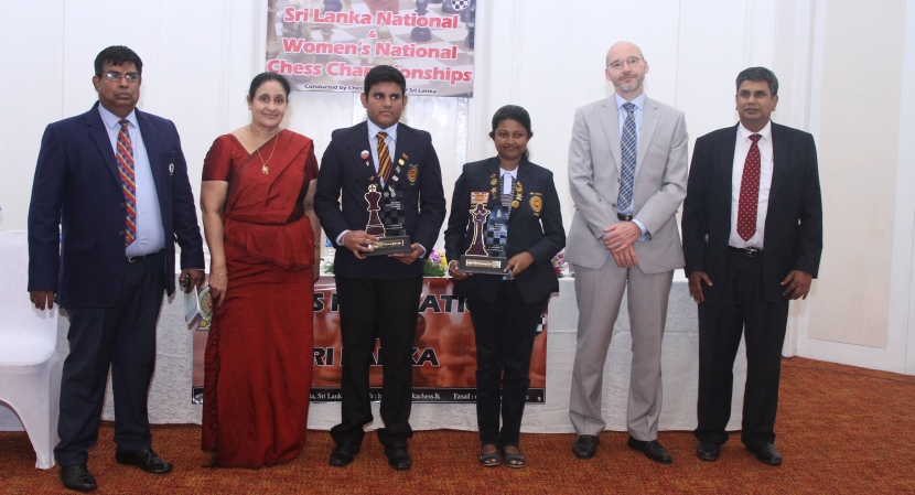 Ranindu Liyanage and Nethmi Fernando are new Sri Lanka champions