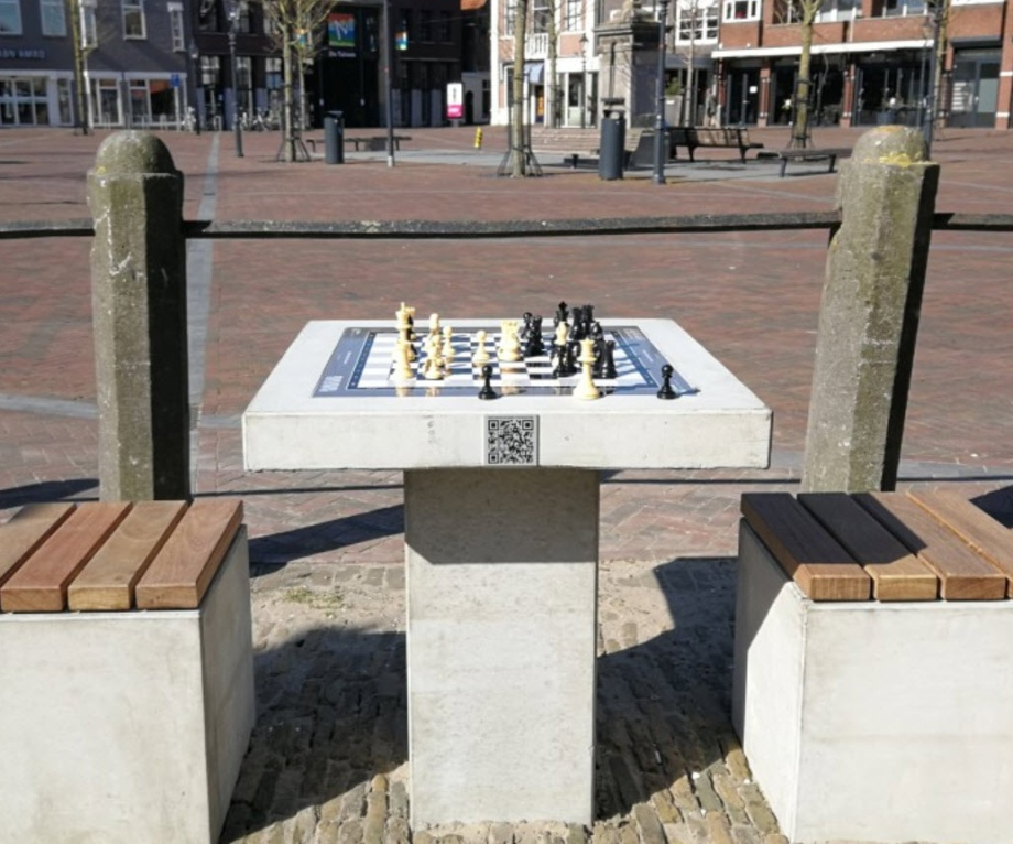 Bringing chess to public spaces