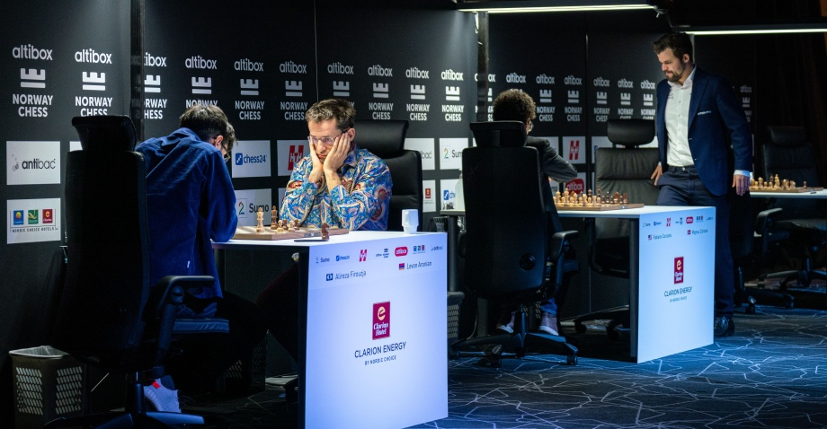Norway Chess R07: Firouzja maintains the lead