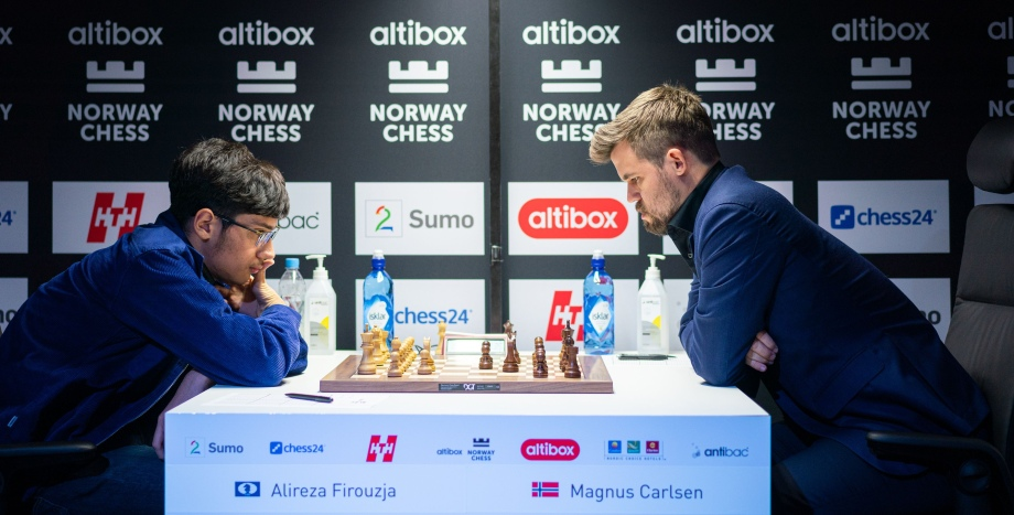 Magnus Carlsen wins Norway Chess with one round to spare