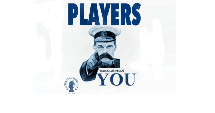 Your chess club needs you!