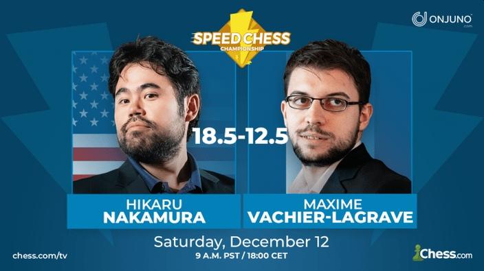 Nakamura wins 2020 Speed Chess Championship