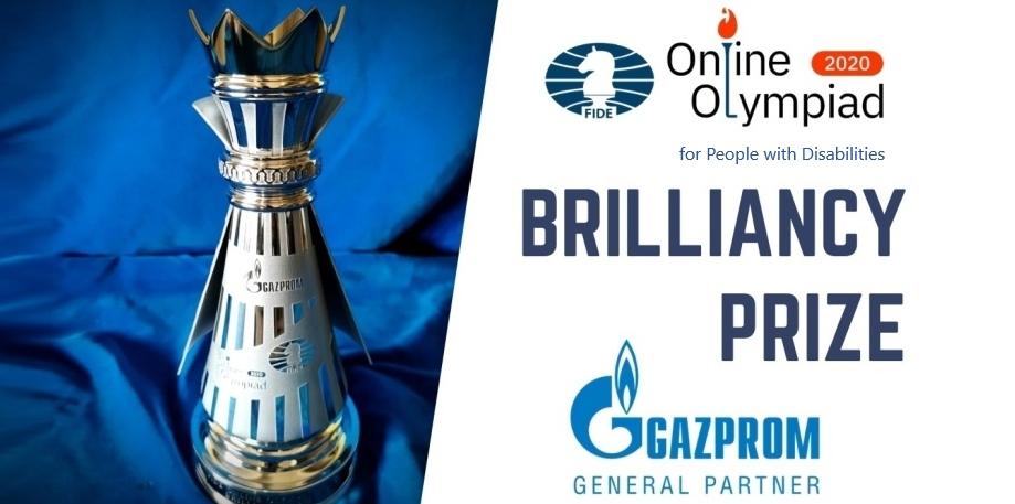 Vladimir Trkaljanov wins Gazprom Brilliancy Prize