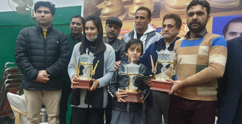 Shehzad Chouhan and Gul Mehak win Pakistan Chess Championship
