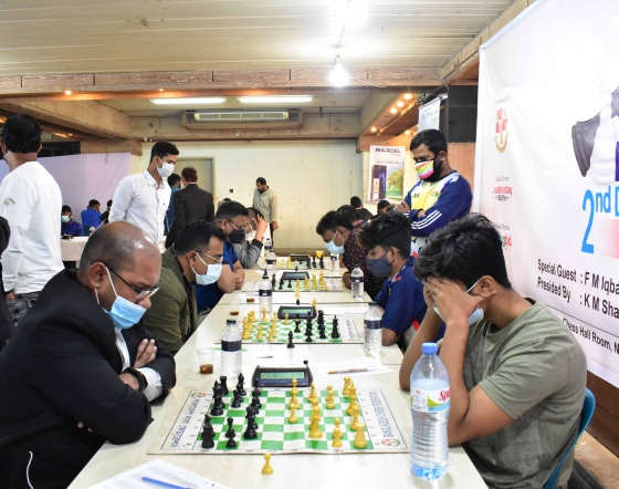 Bangladesh returns to over-the-board chess