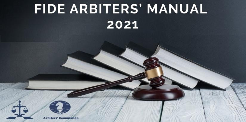 FIDE Arbiters' Manual 2021 published