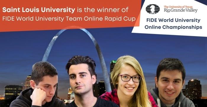 Saint Louis University clinches Team Rapid Cup