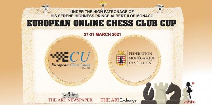 SF Deizisau e.V wins European Online Chess Club Cup 2021