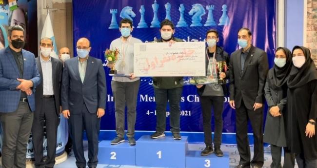 Parham Maghsoodloo winsIranian Championship