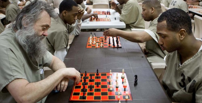 Chess in prisons: The Cook County case