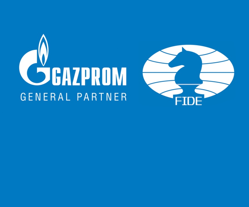 Gazprom becomes FIDE's General Partner for the period 2021-2023