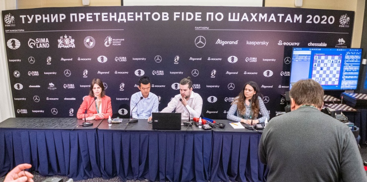 FIDE Candidates Tournament ends in Yekaterinburg, Russia
