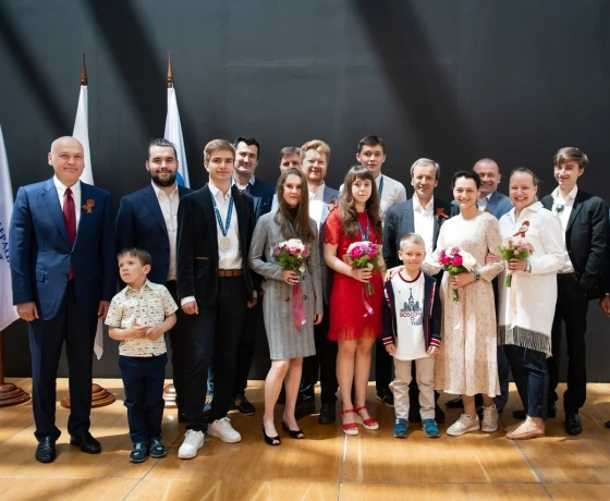 Russian juniors and trainers awarded in Sirius
