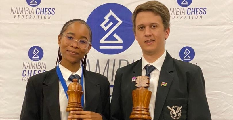 Dante Beukes and Lishen Mentile win Namibia Championship 2021
