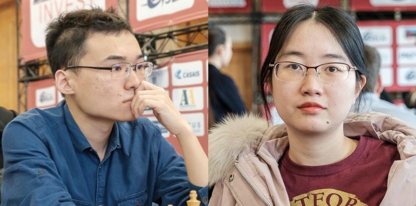 Yu Yangyi and Tan Zhongyi defend national titles